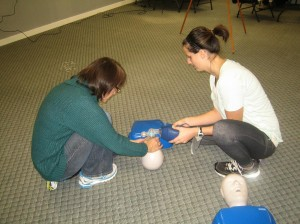 St Mark James CPR and AED Courses