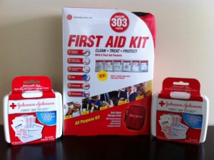 First Aid Kit Training Equipment